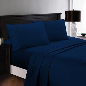 ⭐️SALE⭐️King 4pc Cyan Bedsheets